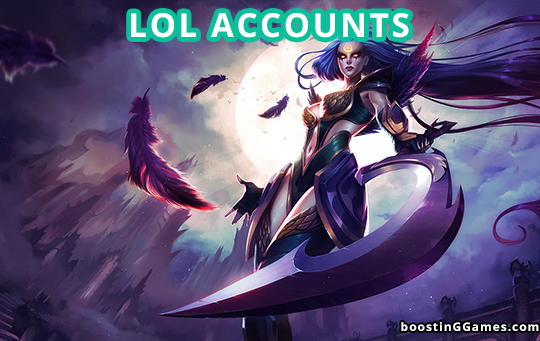 BoostinGGames lol accounts for sale. Buy cheap lol account, cheap lol accounts, cheapest lol accounts